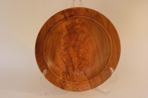 Pear wood plate