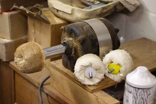 woodturning buffers