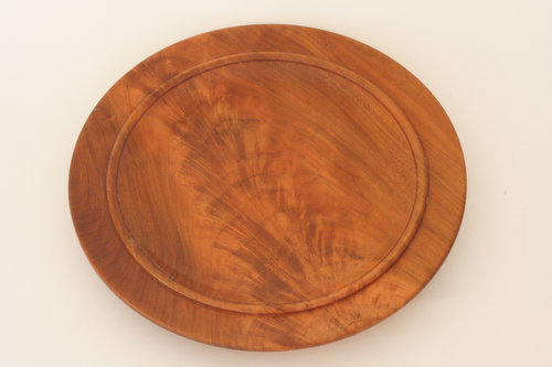 crotch wood cherry platter