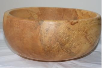 calabash wooden bowl