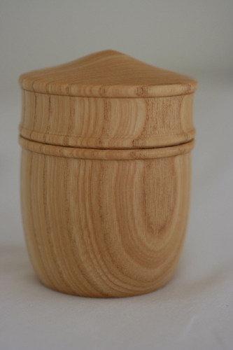 Ash Wood Hand Turned Box